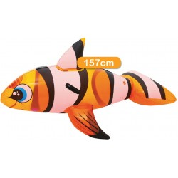 CHEVAUCHABLE POISSON CLOWN